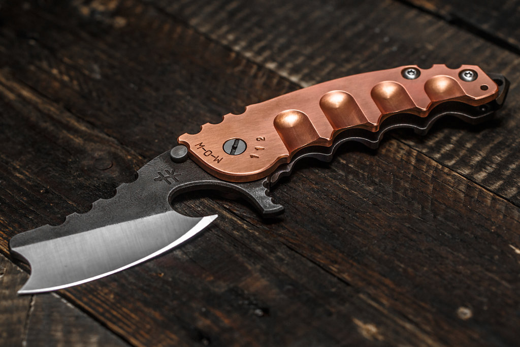 M-O-W Build #112 by Heeter Knifeworks