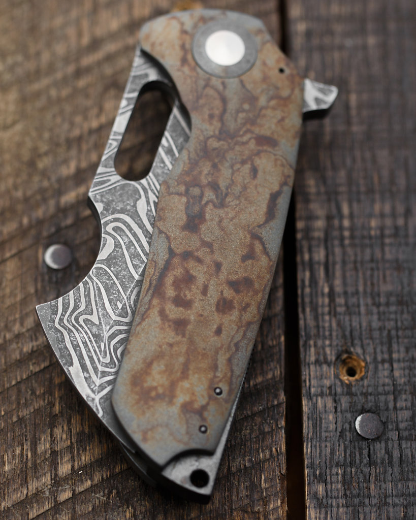 Big Brutus (Toxic) by Christensen Knifeworks